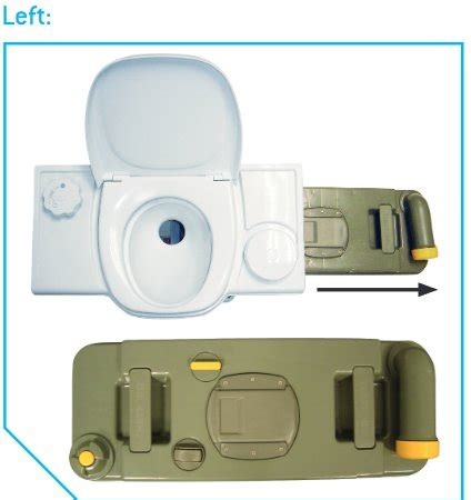 thetford c2 c3 c4 toilet replacement cassette waste holding tank left c234 8710315993950 ebay