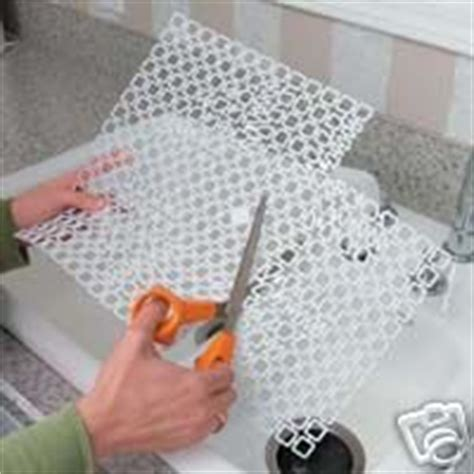 Amazon Com Cut To Size Sink Mat Set Of 2 Protect Glasses