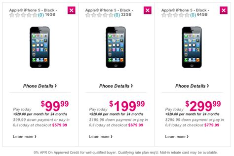 iphone 5 tmobile price iphone 5 pre orders go live on t mobile usa bbiphones