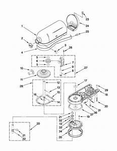 Kitchenaid Mixer Repair Parts List  U2013 Wow Blog