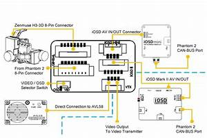 Dji Phantom 2 Fpv Hub - Video Breakout Board