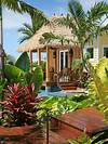 Thatched Roof | Houzz tropical outdoor patio