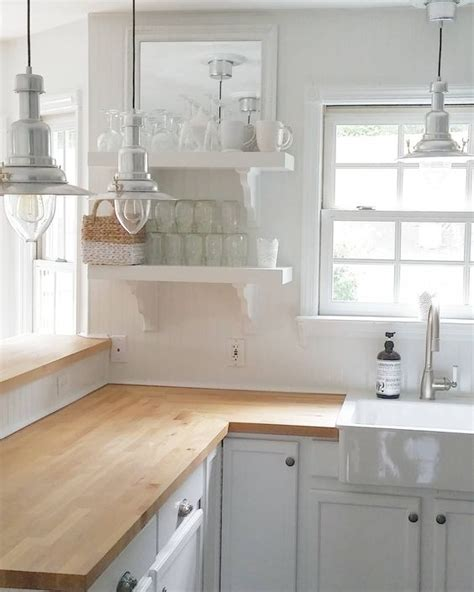 farmhouse kitchen counter decor 30 rustic countertops that add coziness to your home Farmhouse Kitchen Counter Decor