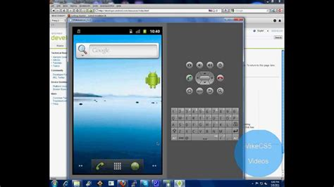 how to android sdk emulator youtube