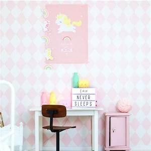 Poster Chambre Bébé : poster b b licorne d co chambre b b bebe ~ Teatrodelosmanantiales.com Idées de Décoration