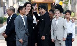 Angelina Jolie makes appearance with children for the ...