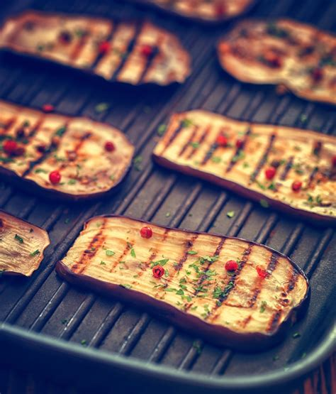 cuisine au barbecue aubergines grillées recettes de cuisine marciatack fr