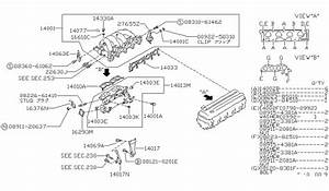 1990 240sx Engine Diagram : 14018 53f01 genuine nissan 1401853f01 support manifold ~ A.2002-acura-tl-radio.info Haus und Dekorationen