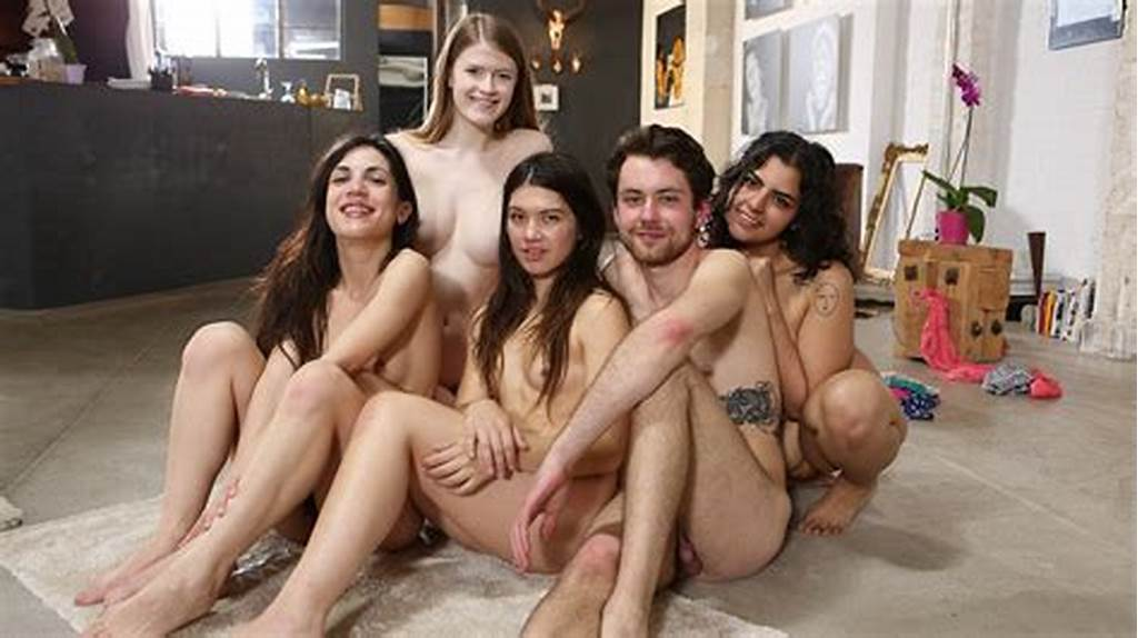 #Two #Couples #And #A #Girl #With #Perfect #Tits #Nude #Together