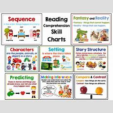 Just Updated! Comprehension Skill Charts!!!  Mrs Gilchrist's Class