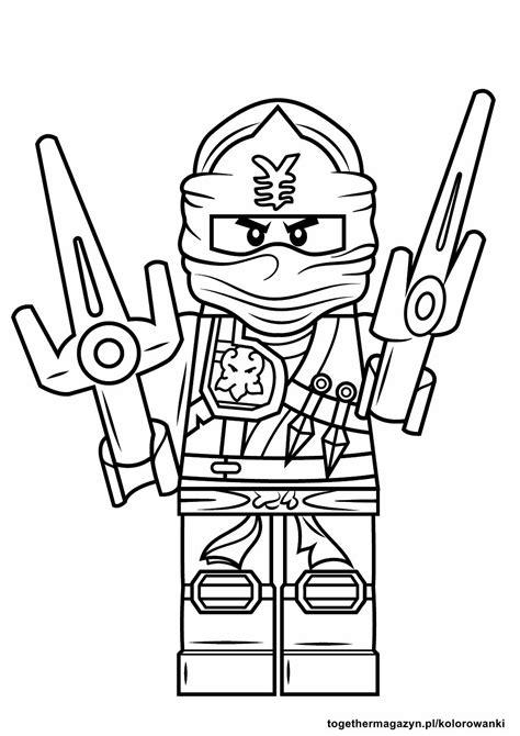 foto de Lego Ninjago kolorowanki pobierz lub wydrukuj Together