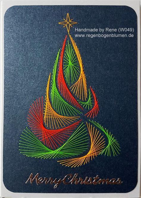 fadengrafik vorlagen weihnachten fadengrafik gru 223 karten set mit dem abgebildeten fadengrafik motiv gearbeitet mit gl 228 nzenden
