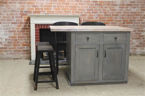 salvaged wood kitchen island custom reclaimed wood kitchen island lake and mountain home