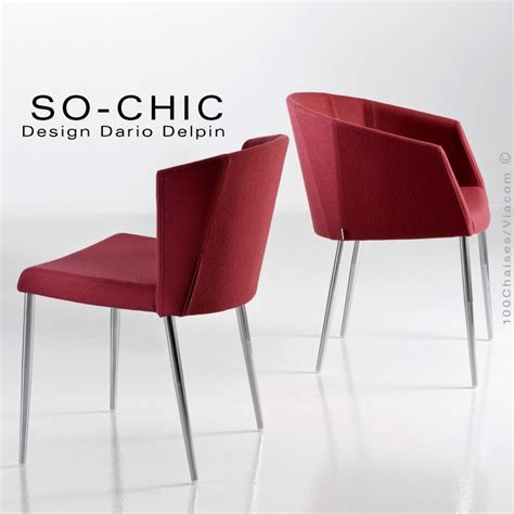 chaise design tendance so chic pi 232 tement 4 pieds acier