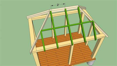 gazebo building plans rectangular gazebo plans howtospecialist how to build
