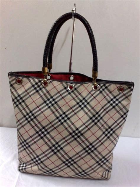 johairistore authentic burberry blue label handbag sold