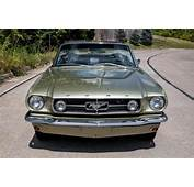 K Code 1965 Ford Mustang GT Convertible 4 Speed