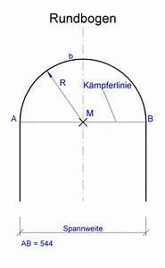 Radius Eines Zylinders Berechnen : rundbogen berechnen mit hilfe der vorgegeben zahlen spannweite mathelounge ~ Themetempest.com Abrechnung