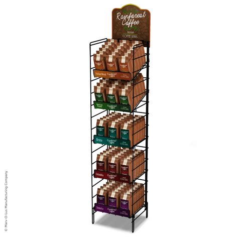 Display Racks by 5 Shelf Wire Display Rack Black Floor Display Marvolus
