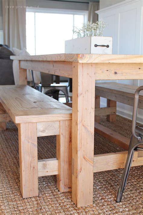 diy farmhouse table rooms mesas de cocina muebles