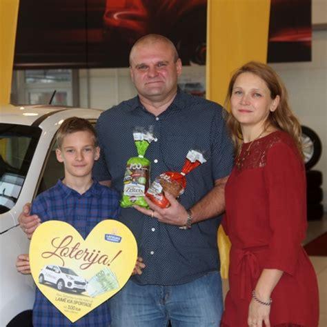 Zeltenes loterijā jaunu automašīnu KIA Sportage laimējis rīdzinieks Armands Ādamsons | Latvijas ...