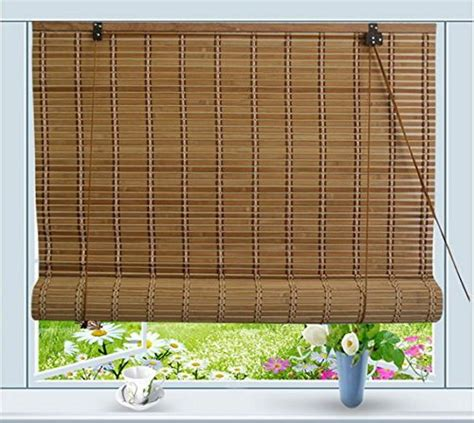 Roll Up Blinds by Bamboo Roll Up Window Blind Sun Shade W32 Quot X H72 Quot Buy