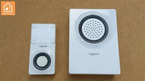 sonnette sans fil exterieur etanche sonnette legrand installation et avis sur ce carillon bricolage facile