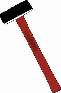 Sledge Hammer Clip Art at Clker.com - vector clip art ...