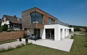 Fassade Holz Putz Einfamilienhaus In Holz Putz Kombination Stommel