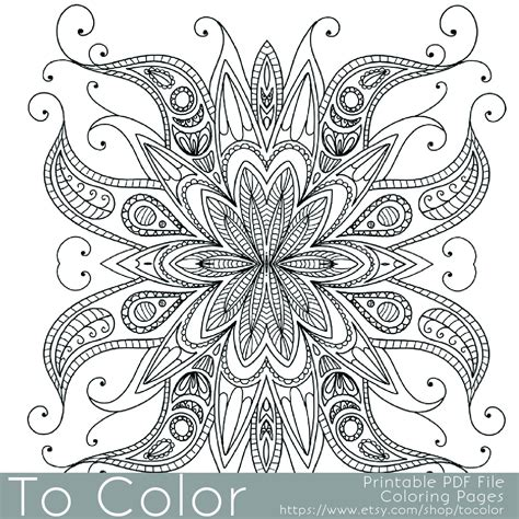 intricate coloring page federalgrantsource