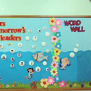 Fish bulletin boards and classroom ideas