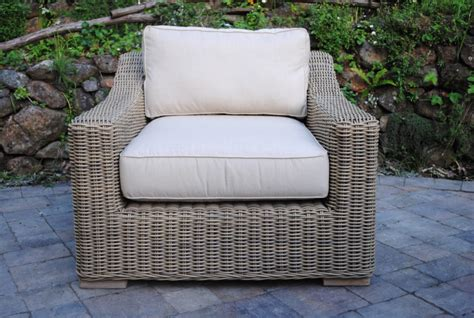 tuscany collection wicker lounge chair paradise teak