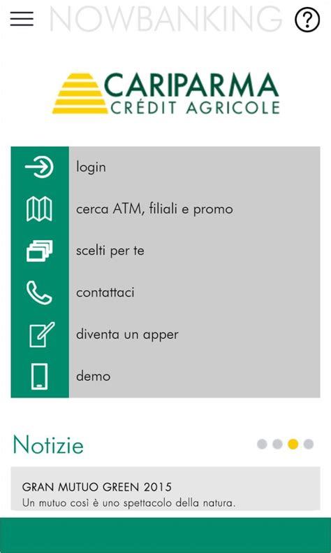 si鑒e credit agricole nowbanking l 39 app gruppo cariparma credit agricole arriva sui dispositivi windows windowsteca