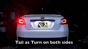 2015  Wrx Cool Tail Light Modification