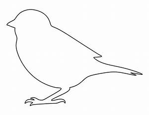 Image Gallery sparrow outline