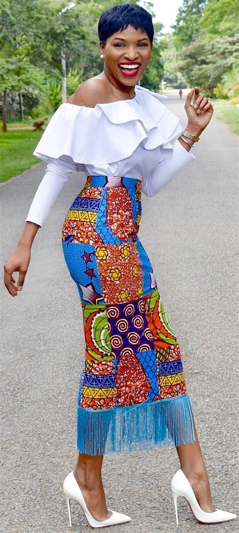 african wear long skirt african fashion ankara kitenge