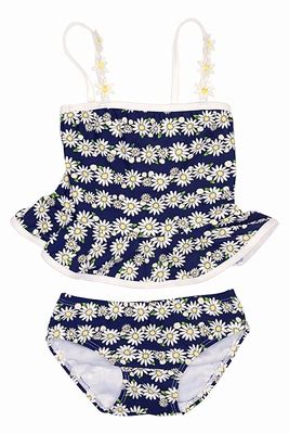kate mack baby toddler girls navy blue daisy chain