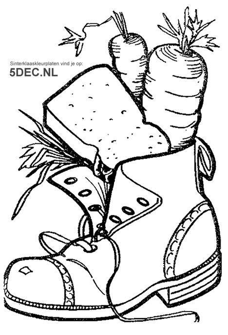 Npo 3 Kleurplaat by Schoen Zetten Sinterklaas