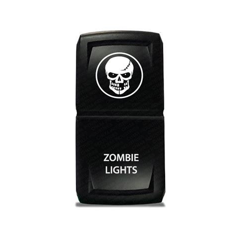 Chx Rocker Switch Zombie Light Symbol