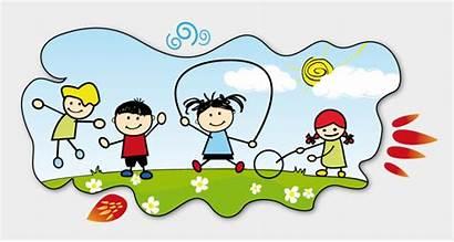 Clipart Fun Children Healthy Activities Join Cartoons
