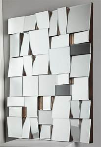 Miroir À Coller Leroy Merlin : grand miroir mural leroy merlin avec tablette cm opale ~ Melissatoandfro.com Idées de Décoration