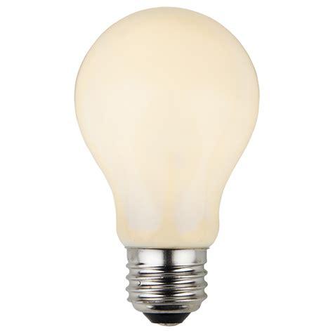 e26 and sign bulbs a19 opaque white 25 watt
