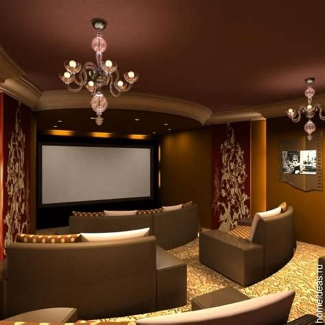 We sell unique home theater decor (home theatre decor) items such as: Media Room Design: Ideas, Furniture And Decor For Home ...