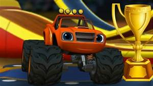 Blaze Race To The Rescue Truck Game For Litle Kids YouTube