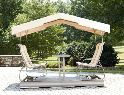 Patio Swings With Canopy by Outdoor Patio Swings With Canopy Home Design Ideas