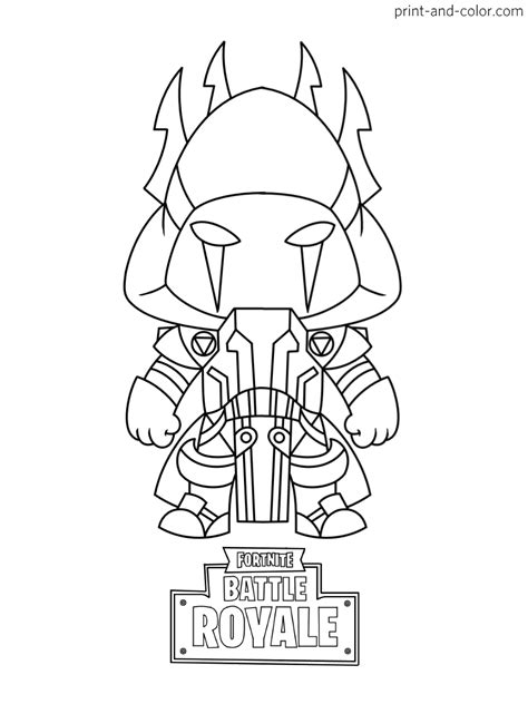 da colo fortnite coloring pages print and color