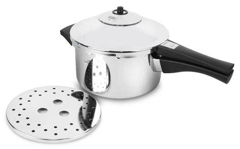 kuhn rikon duromatic stainless steel saucepan pressure cooker  quart cutlery
