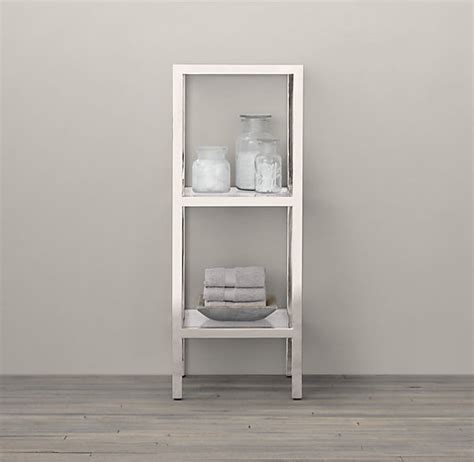 Small Etagere by Bathroom Wall Shelves That Add Practicality And Style To