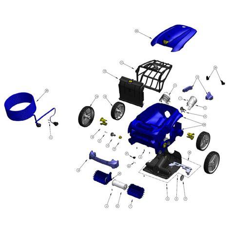 carte clavier robot zodiac vortex 4 piscine shop