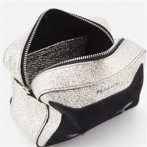 Ps By Paul Smith Cat Crossbody Bag ps by paul smith s silver cat cross bag